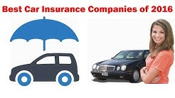 Top 40 List of Insurer-Best Car Insurance Companies of 2016-auto insurance quotes