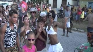 Bloco da Burrinha em Ponta de Areia - Caravelas - Bahia - Brasil