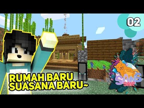 MEMBUAT RUMAH PERTAMA DI SANS SMP! - Minecraft Sans SMP #2