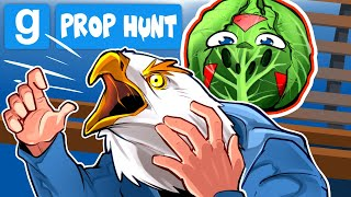 Gmod Ep. 93 - WHY EARLY BIRD WAS LATE! - Prop Hunt! (Delirious' Perspective)