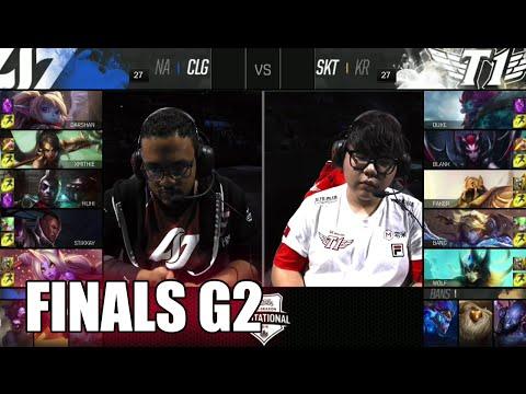 CLG vs SK Telecom T1 | Game 2 Grand Finals LoL MSI 2016 | CLG vs SKT G2 MSI 1080p