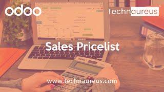 sales Pricelist in Odoo