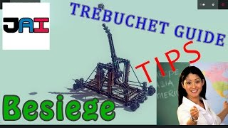 Jai - Besiege Guide/tips Building Powerful Catapult/sling Trebuchet! 60fps Commentary