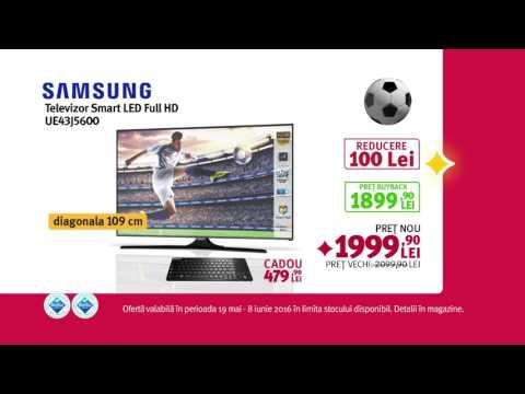 Reclamă ALTEX Samsung TV LED Fotbal - mai 2016