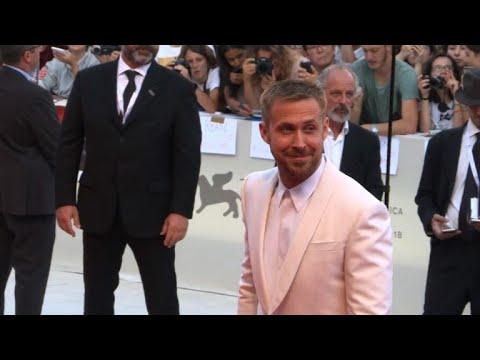 "Stars of ""First Man"" walk Venice Film Festival red carpet"