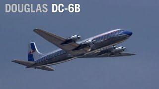 Red Bull's Douglas DC-6B Thunders Over Farnborough – AINtv Express