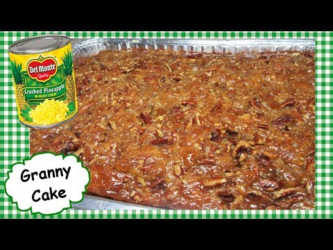 How To Make Granny Cake Recipe ~ Pineapple & Pecans ~ Secret Icing!