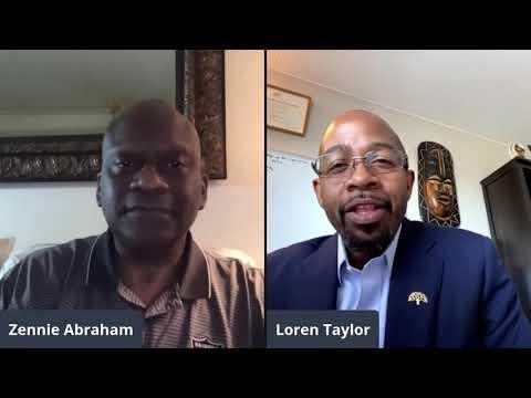 Loren Taylor City CouncilmanTalks Oakland Resilient Families Oakland Guaranteed Income Program