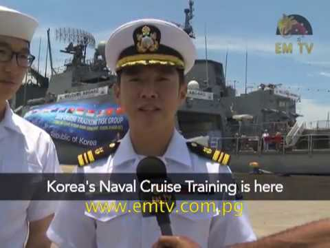 Korean Navy Ships in PNG