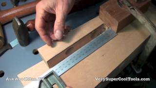 14 How To Build A Bed • Shaping The Curved Top Of The Legs