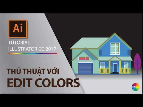 Tutorial illustrator cc - part 2.8 - How to edit color group (Thủ thuật với màu sắc) thumbnail