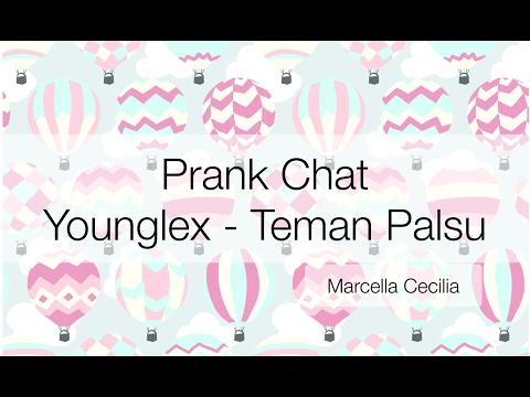prank chat pakai lagu Young Lex - Teman Palsu