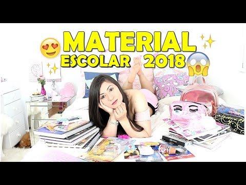 MATERIAL ESCOLAR 2018!