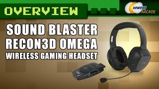 Creative Sound Blaster Recon3D Omega Wireless Gaming Headset Overview - Newegg Arcade