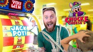Chuck E Cheese Family Ticket Battle: Arcade Games & Family Fun!