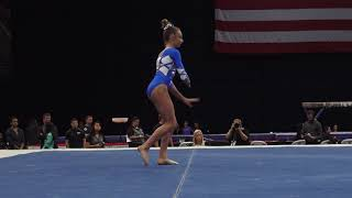 Grace McCallum – Floor Exercise – 2018 U.S. Gymnastics Championships – Senior Women Day 1