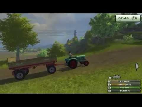 Kramer KL 200 tractor transport grain