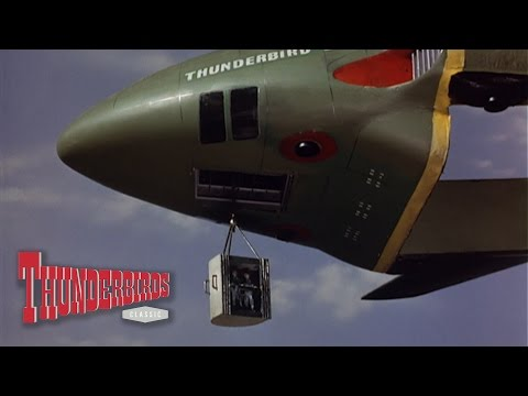 Virgil Gets The Pilots Clear Of The Exploding Fireflash - Thunderbirds