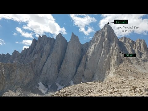 Mount Whitney Via The East Buttress