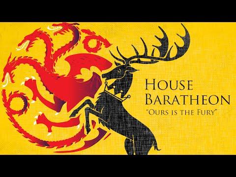 Baratheon Family Tree - Game of Thrones
