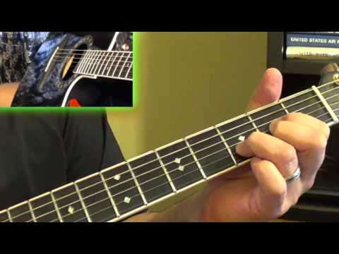 Guitar Tutorial - It's a Long Way There - Little River Band
