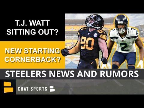Steelers Rumors: T.J. Watt Sitting Out Week 1 vs. Bills? + Ahkello Witherspoon Starting At CB?