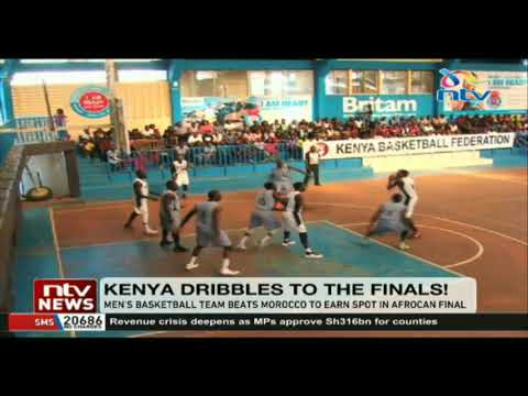 Kenya's basketball team beats Morocco to earn spot in AFROCAN final