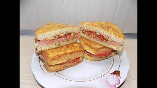 СЭНДВИЧИ ВКУСНЫЕ ГОРЯЧИЕ БУТЕРБРОДЫ Бутерброды в Школу Готовим Вкусно и Быстро