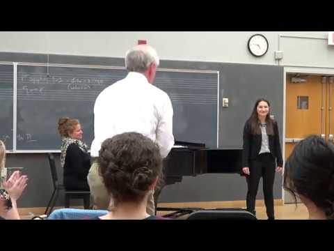 Anthony Michaels-Moore Masterclass at UNM, Part IV