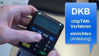 DKB chipTAN einrichten | Anleitung
