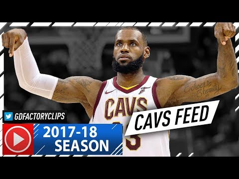 LeBron James Full Highlights vs Wizards (2017.11.03) - 57 Pts, 11 Reb, CAVS Feed!