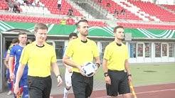 U17-Länderspiel Israel gegen Italien - Schiedsrichter Joshua Herbert im Fokus
