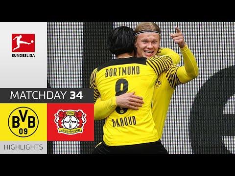 Borussia Dortmund - Bayer 04 Leverkusen | 3-1 | Highlights | Matchday 34 – Bundesliga 2020/21