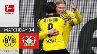 Borussia Dortmund - Bayer 04 Leverkusen  3-1  Highlights  Matchday 34 – Bundesliga 2020/21