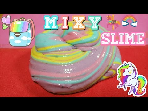 MIXY SLIME TUTORIAL [IND] 4 COLOUR!