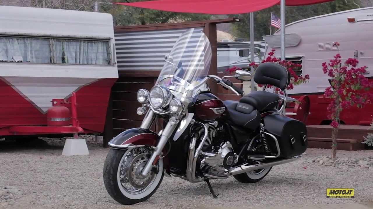 triumph thunderbird lt 2014 _ test moto.it - youtube