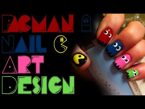 Pacman Nail Art Tutorial thumbnail