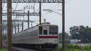 東武9000系9105F「Fライナー」 川越市~霞ヶ関間爆音通過