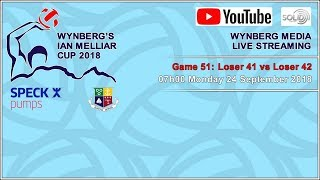 #IMC2018 Game 51: St Peter's vs Westerford