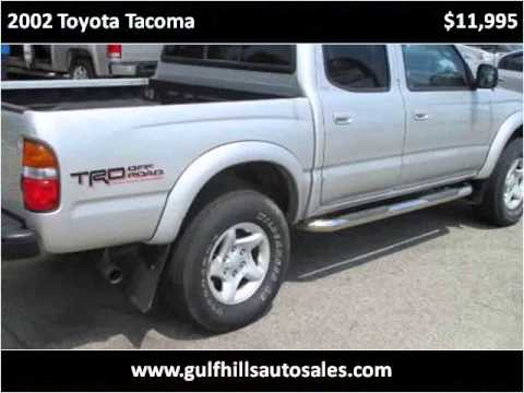 2002 Toyota Tacoma Used Cars Ocean Springs MS