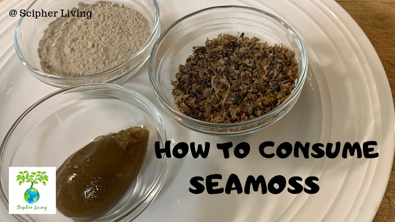 How To Consume Seamoss | DR. SEBI APPROVED