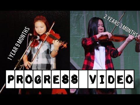 2 Years 3 Months Violin Progress