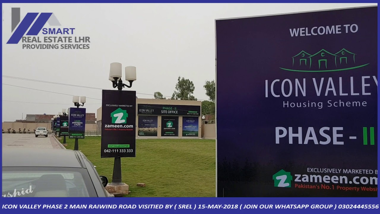ICON VALLEY HOUSING SCHEME PHASE 2 MAIN RAIWIND ROAD VISITIED BY ( SREL ) 15-MAY-2018