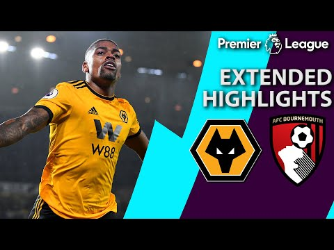 Wolves v. Bournemouth | PREMIER LEAGUE EXTENDED HIGHLIGHTS | 12/15/18 | NBC Sports