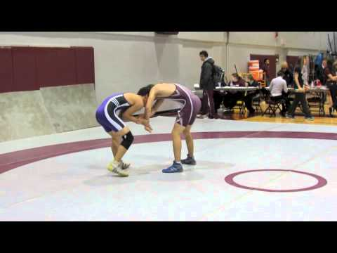 2012 McMaster Invitational: 54 kg Drew Sinclair vs. John Ngo