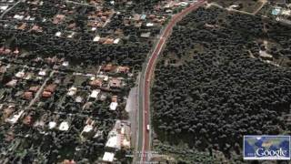 Athens Classic Marathon Route Fly-By