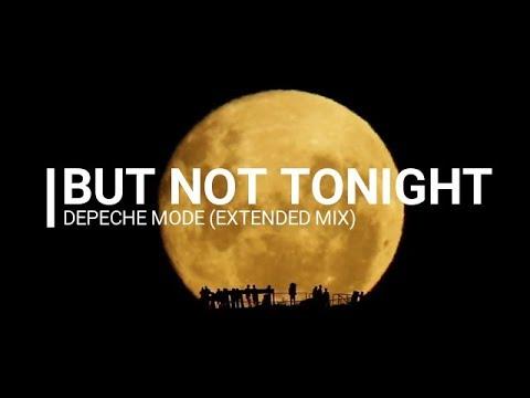 But not tonight Karaoke - Depeche Mode