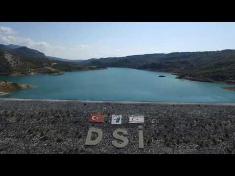 Sweet water dam N Cyprus