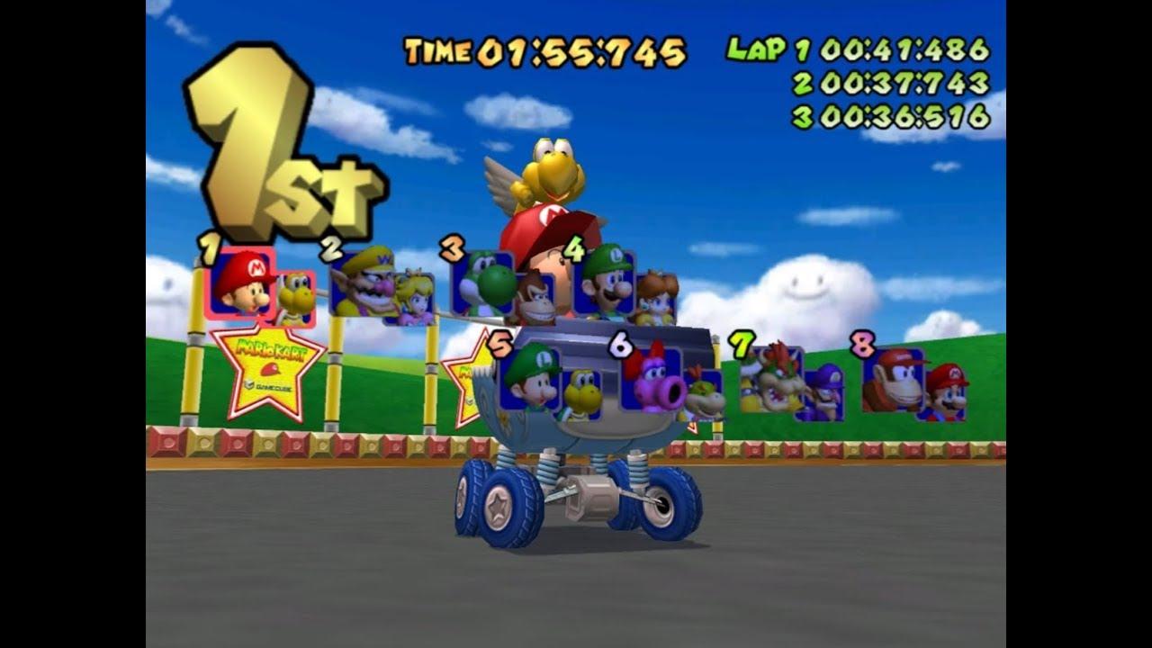 Mario Kart Ds Beta Music Hack Mkdd Main Menu By Jimb