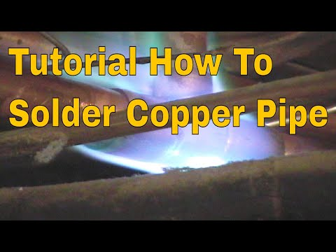 Solder Copper Pipe Tricks Of The Trades Full Tutorial